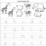 Fichas caligrafía para escribir letras minúsculas